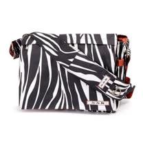 【美國Ju Ju Be媽咪包】BeAll 肩背包-Safari Stripes時尚斑馬紋-外出專用媽媽包