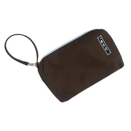 【美國JuJuBe媽媽包】BeQuick手拿包-Brown/Robin薄荷巧克力-可放尿布紙巾