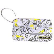 【美國Ju-Ju-Be媽咪包】BeQuick手拿包-Pretty Tweet 妙語芳鄰-可放尿布紙巾媽媽包