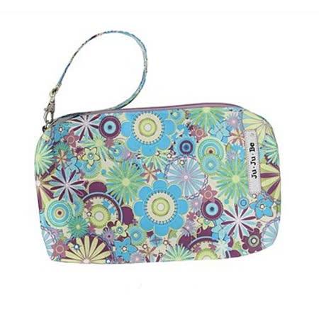 【美國Ju-Ju-Be媽咪包】BeQuick手拿包-Dizzy Daisies甜蜜花語-可放尿布紙巾媽媽包