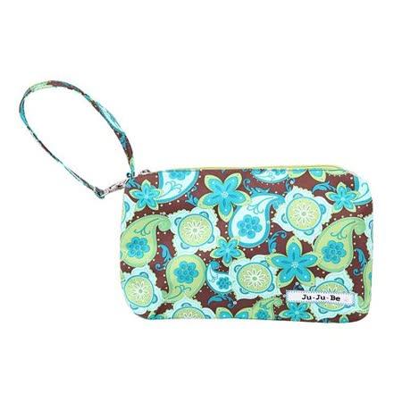 【美國Ju Ju Be媽咪包】BeQuick手拿包-Drip Drops輕舞羅縵-可放尿布紙巾媽媽包