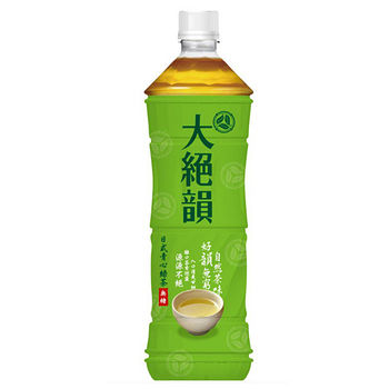 味全大絕韻日式綠茶(無糖)1250ml