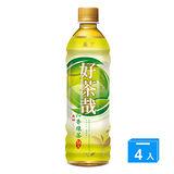 《黑松》好茶哉沁香綠茶580ml*4
