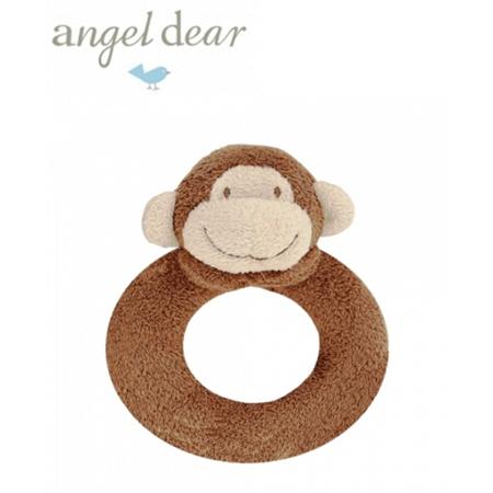 Angel Dear 動物家族手搖鈴環 (小猴)