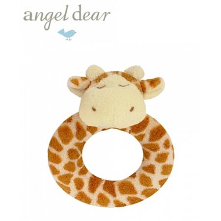 Angel Dear 動物家族手搖鈴環 (長頸鹿)