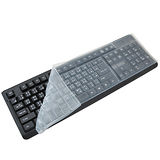 通用型 防水防塵防油 彈性矽膠台式鍵盤保護膜 (超值2入組)(K3215)
