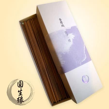 【圓生緣】香摩地-圓淨檀香-21cm線香