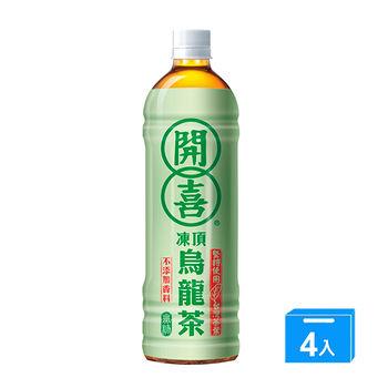 開喜開喜阿里山烏龍茶-無糖575ML*4