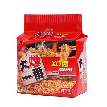 維力大炒一番XO醬風味炒麵85G*4