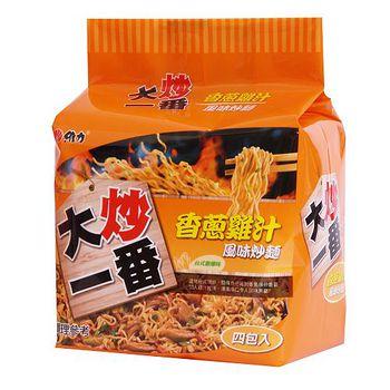 維力大炒一番香蔥雞汁風味炒麵80G*4