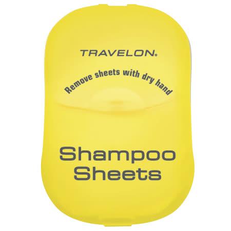 《TRAVELON》洗髮旅用皂紙(黃)