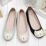 【童鞋城堡】日本娃娃小貓咪甜美公主休閒鞋【媽媽款】{台灣製造}9125B