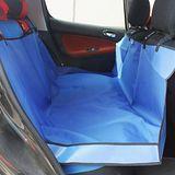 汽車防水寵物墊/防護墊/防污墊/車墊(小3D後雙座)WN-011藍色