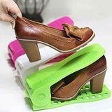 【PS Mall】全新的雙倍收納鞋架 防滑鞋架(J2060)