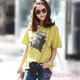 現貨+預購【CHACO韓國】韓製純棉手繪獅子王短袖衫(2色free)