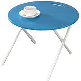 【奧克蘭】圓形手提折疊和室桌(六色)