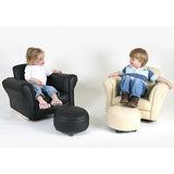 L.A. Baby 美國加州貝比 伯爵兒童專屬沙發搖椅/兒童椅