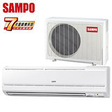 SAMPO聲寶 6-8坪一對一定頻單冷分離式冷氣(AM-V36L/AU-V36)送安裝★七年保固