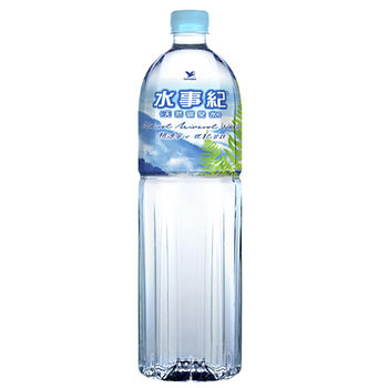 統一水事紀麥飯石礦泉水1500ml*12入/箱