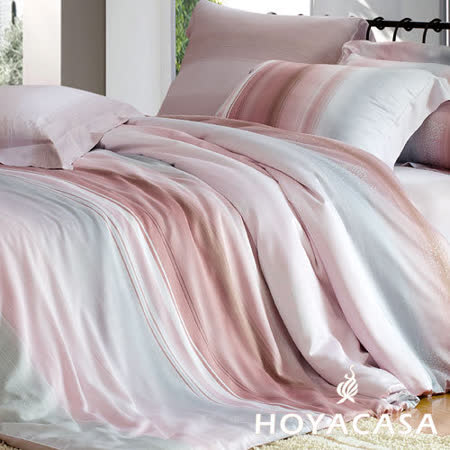 《HOYACASA 華爾滋》三件式天絲枕套涼被組