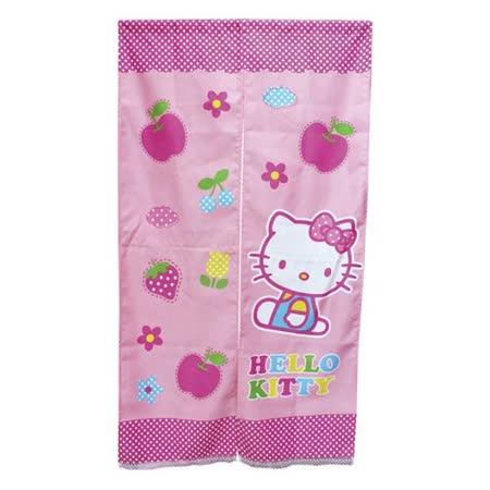 Hello Kitty蘋果長門簾82x145cm(KT0707)