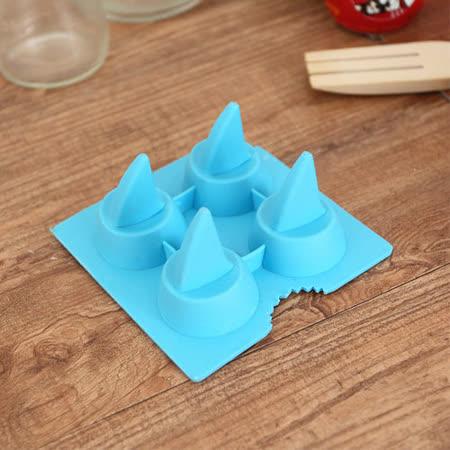 (任選)趣味鯊魚鰭冰塊-2入