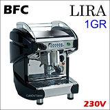 義大利 BFC LIRA 1GR 單孔子母鍋營業用半自動咖啡機-黑色 230V (HG0967BK)