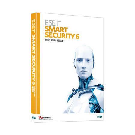 ESET Smart Security 6 網路安全套裝-一年單機盒裝版