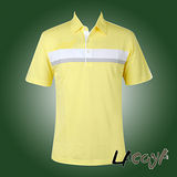 LACOYA  男短袖POLO衫(AP133-4黃)