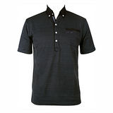 LACOYA  男短袖POLO衫(AP138-3深灰)