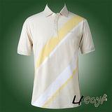 LACOYA  男短袖POLO衫(AP139-3卡其)