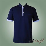 LACOYA  男短袖POLO衫(AP135-3丈青)