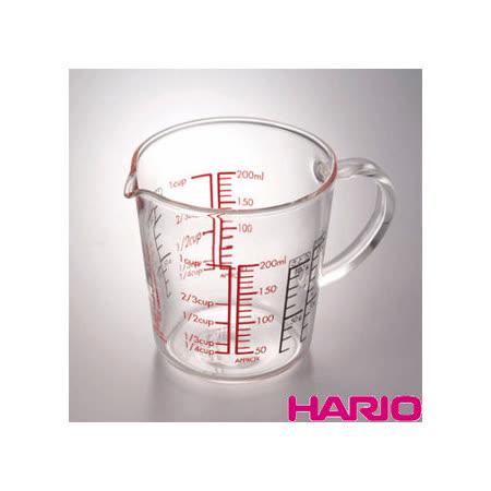 日本【HARIO】玻璃手把量杯200ml / CMJW-200