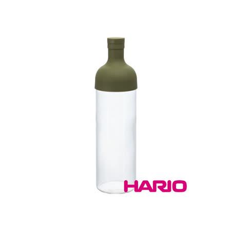 日本【HARIO】酒瓶綠色冷泡茶壺750ml / FIB-75-OG