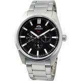 ORIENT SP 冒險家時尚全日曆腕錶(黑/42mm) FUX00004B
