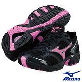Mizuno CRUSADER7 女用慢跑鞋(黑)8KA-36165