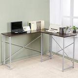 Homelike 超值小巧L型工作桌-深40cm(二色)