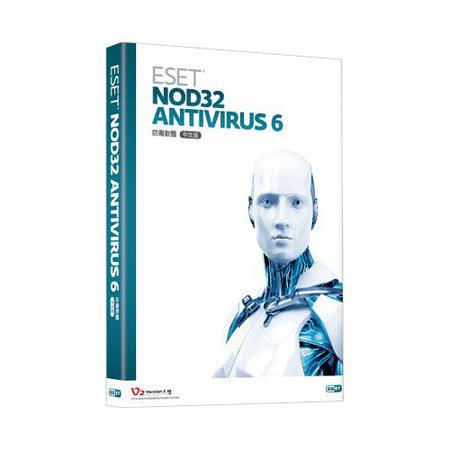 ESET NOD32 Antivirus 6 防毒軟體-三年3人盒裝版