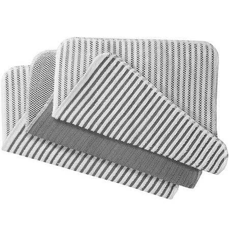 《NOW》網紋廚用擦拭巾(灰3入)