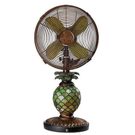 10吋古典鳳梨藝術燈扇(LD-1001A)