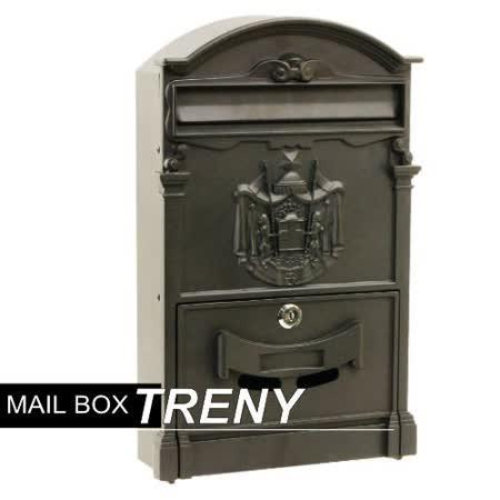《信箱》歐風鐵製信箱40*25*9cm-93475