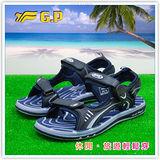 [GP]阿亮代言-新款親子系列(36-43)尺碼-休閒舒適磁釦涼鞋 G3635-20(藍色)共有三色