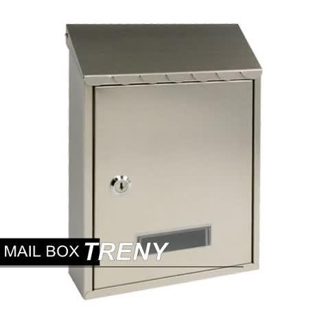 《信箱》 加厚不鏽鋼板-花編信箱(033HSS)-22925
