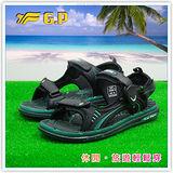 [GP]阿亮代言-新款親子系列(36-43)尺碼-休閒舒適磁釦涼鞋 G3635-60(綠色)共有三色