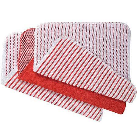 《NOW》網紋廚用擦拭巾(紅3入)