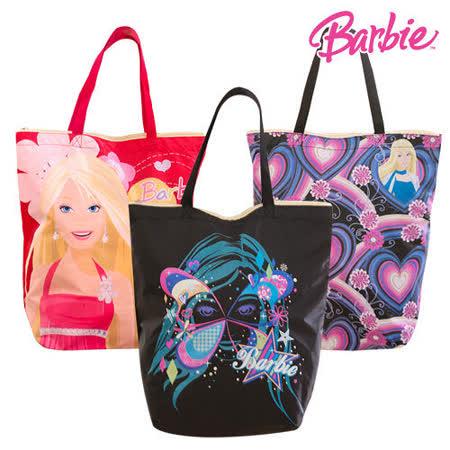 芭比Barbie肩背手提補習袋(3入)