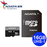 ADATA 威剛 16GB Premier microSDHC TF UHS-I Class10 記憶卡