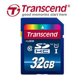 Transcend創見 SDHC 32GB UHS-1 Class10 高速記憶卡