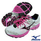 Mizuno WAVE PRECISION13 女用慢跑鞋(白)8KN-21507