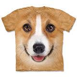 『摩達客』(預購)美國進口【The Mountain】自然純棉系列 柯基犬臉 設計T恤